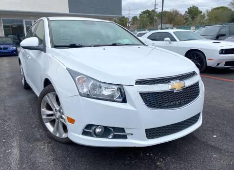 2014 Chevrolet Cruze for sale at KAYALAR MOTORS in Houston TX