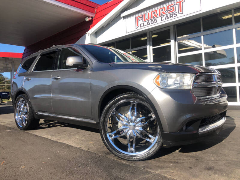 2011 Dodge Durango for sale at Furrst Class Cars LLC  - Independence Blvd. in Charlotte NC
