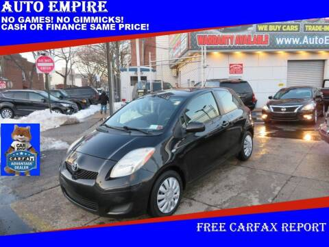 2011 Toyota Yaris for sale at Auto Empire in Brooklyn NY