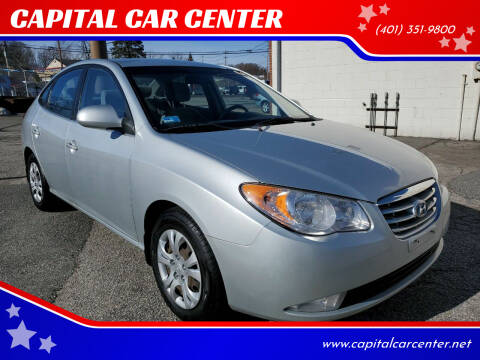 2010 Hyundai Elantra for sale at CAPITAL CAR CENTER in Providence RI