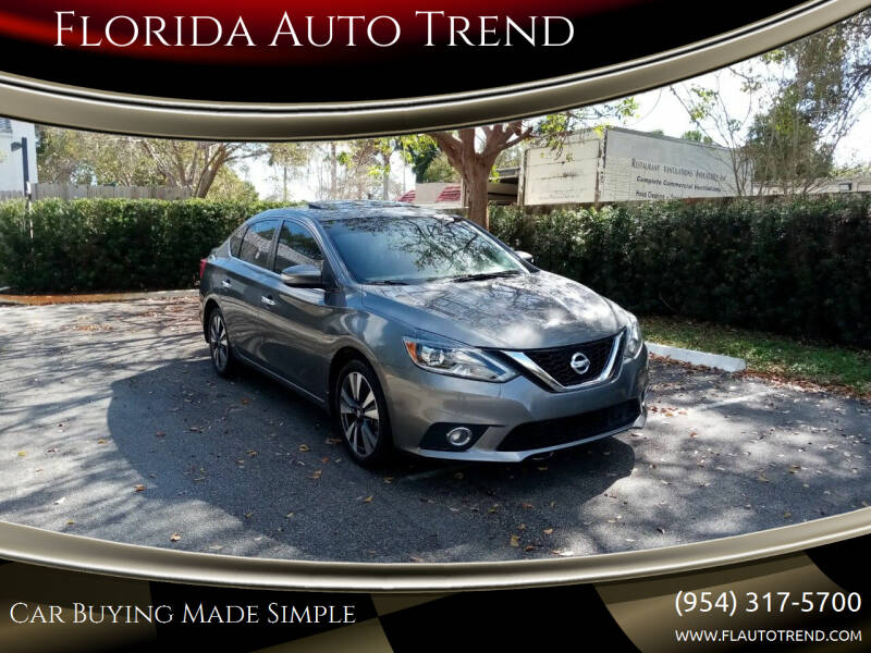 2017 Nissan Sentra for sale at Florida Auto Trend in Plantation FL