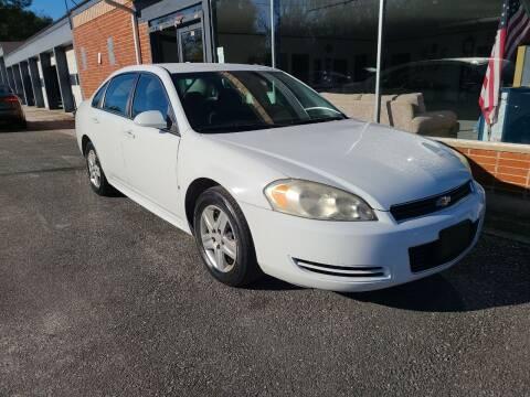 2010 Chevrolet Impala for sale at Mott's Inc Auto in Live Oak FL
