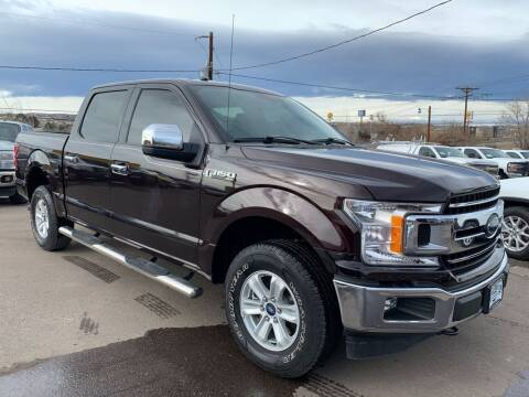 2018 Ford F-150 for sale at BERKENKOTTER MOTORS in Brighton CO