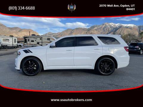 2017 Dodge Durango for sale at S S Auto Brokers in Ogden UT