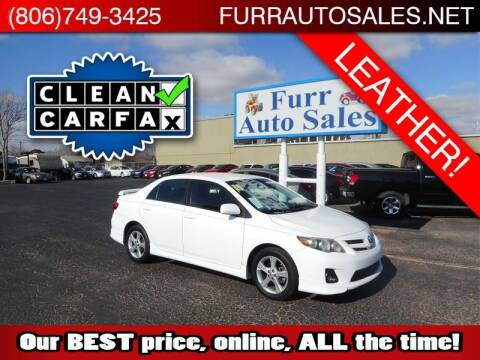 2011 Toyota Corolla for sale at FURR AUTO SALES in Lubbock TX