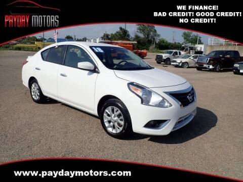 2018 Nissan Versa for sale at Payday Motors in Wichita KS