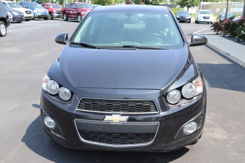 2015 Chevrolet Sonic for sale at Ultimate Auto Deals DBA Hernandez Auto Connection in Fort Wayne IN