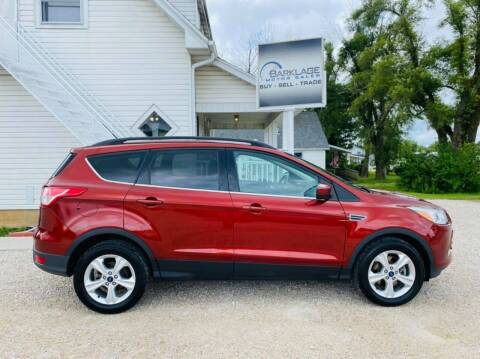 2014 Ford Escape for sale at BARKLAGE MOTOR SALES in Eldon MO