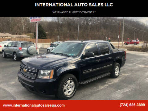 2007 Chevrolet Avalanche for sale at INTERNATIONAL AUTO SALES LLC in Latrobe PA