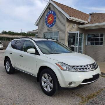 2006 Nissan Murano for sale at Spark Motors in Kansas City MO