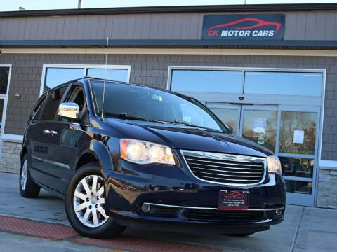 2012 Chrysler Town and Country for sale at CK MOTOR CARS in Elgin IL