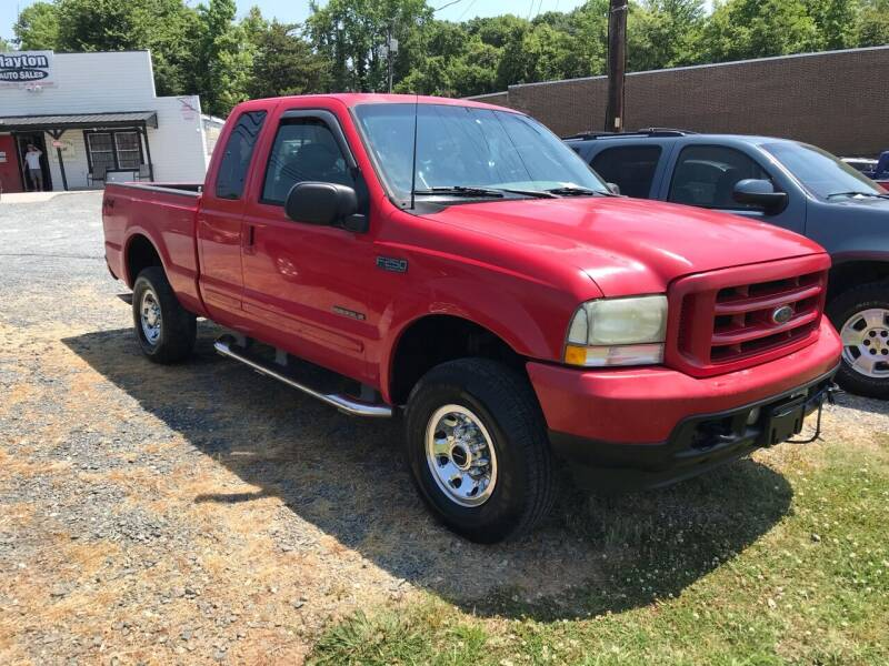 2003 Ford F-250 Super Duty for sale at Clayton Auto Sales in Winston-Salem NC