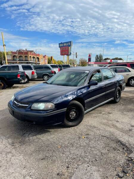 2001 Chevrolet Impala for sale at Big Bills in Milwaukee WI