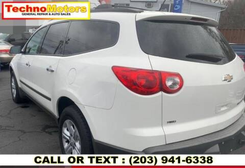 2012 Chevrolet Traverse for sale at Techno Motors in Danbury CT