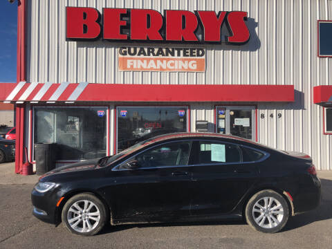 2015 Chrysler 200 for sale at Berry's Cherries Auto in Billings MT