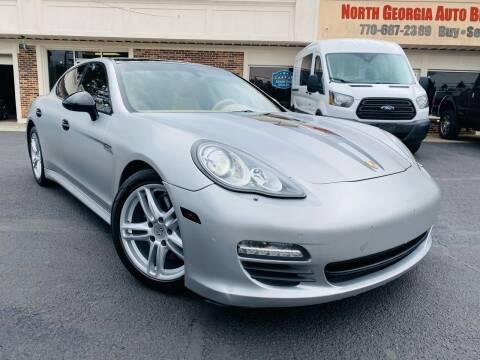 2012 Porsche Panamera for sale at North Georgia Auto Brokers in Snellville GA