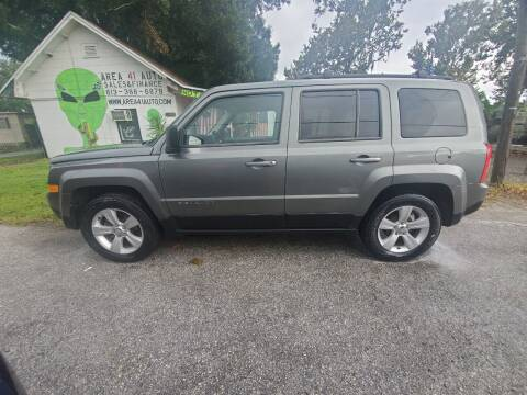 2014 Jeep Patriot for sale at Area 41 Auto Sales & Finance in Land O Lakes FL