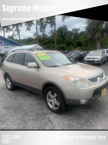 2007 Hyundai Veracruz for sale at Supreme Motors in Tavares FL