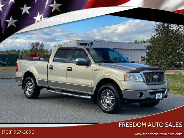 2006 Ford F-150 for sale at Freedom Auto Sales in Chantilly VA