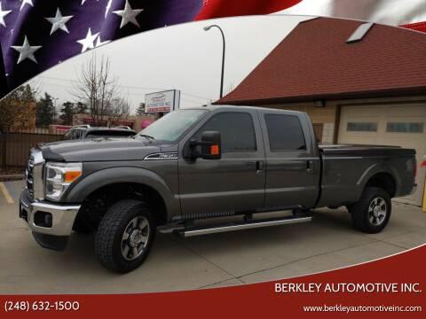 2015 Ford F-350 Super Duty for sale at Berkley Automotive Inc. in Berkley MI