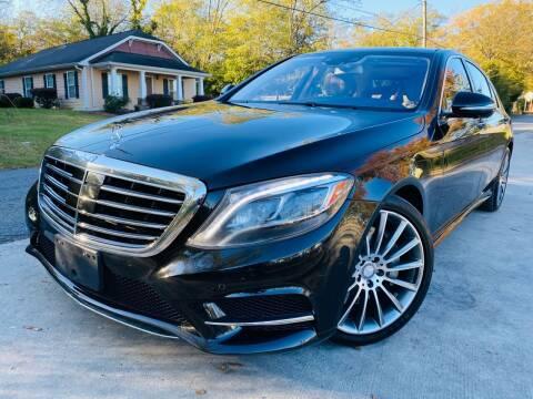2014 Mercedes-Benz S-Class for sale at Cobb Luxury Cars in Marietta GA