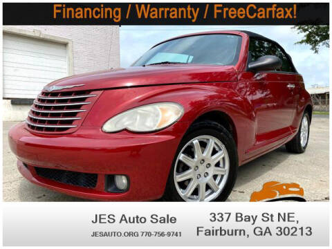 2007 Chrysler PT Cruiser for sale at JES Auto Sales LLC in Fairburn GA