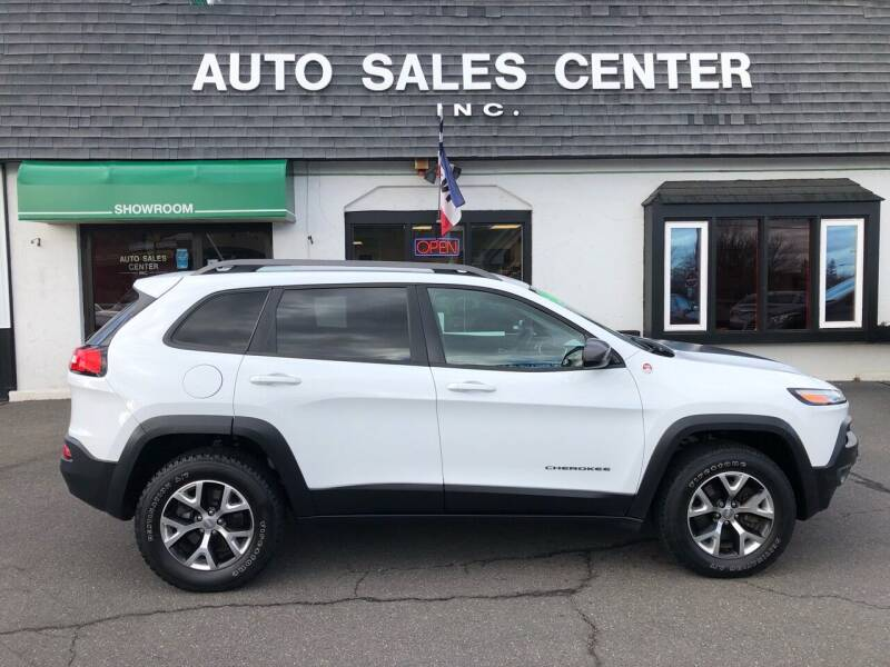 2014 Jeep Cherokee for sale at Auto Sales Center Inc in Holyoke MA