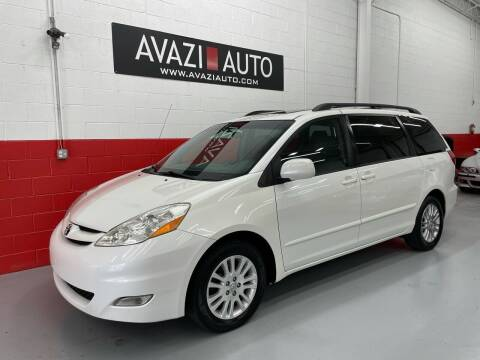 2010 Toyota Sienna for sale at AVAZI AUTO GROUP LLC in Gaithersburg MD