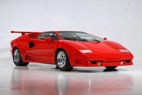 1989 Lamborghini Countach for sale at Motorcar Classics in Farmingdale NY