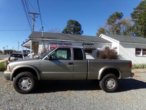2001 GMC Sonoma for sale at Locust Auto Imports in Locust NC
