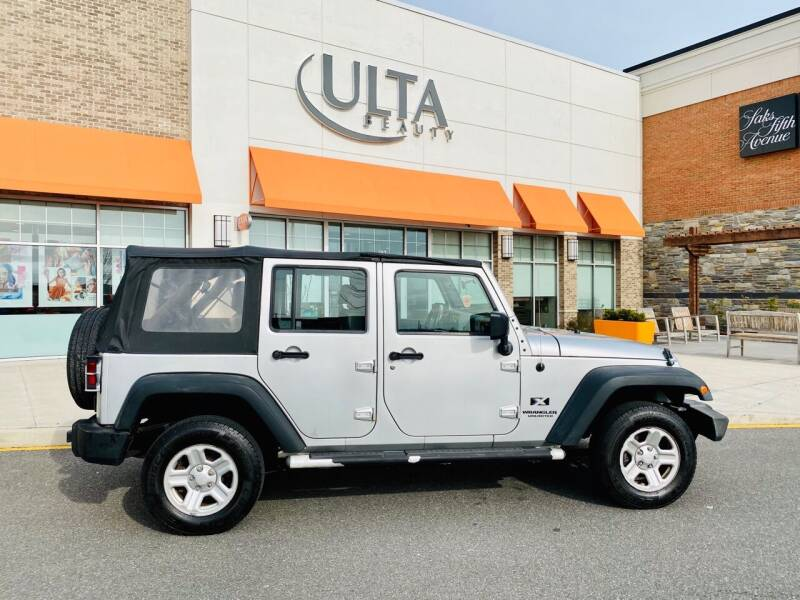 2008 Jeep Wrangler Unlimited for sale at Bluesky Auto in Bound Brook NJ