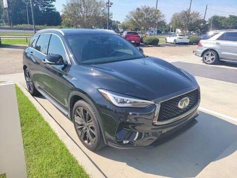 2020 Infiniti QX50 for sale at JOE BULLARD USED CARS in Mobile AL