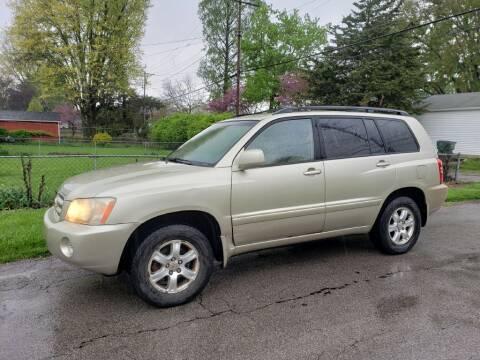2003 Toyota Highlander for sale at REM Motors in Columbus OH