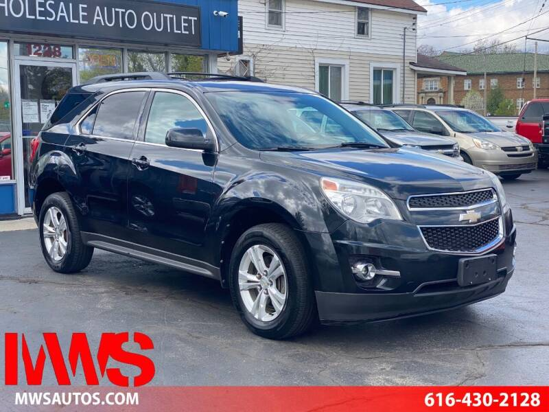 2012 Chevrolet Equinox for sale at MWS Wholesale  Auto Outlet in Grand Rapids MI