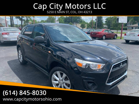 2013 Mitsubishi Outlander Sport for sale at Cap City Motors LLC in Columbus OH