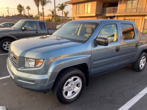 2006 Honda Ridgeline for sale at Coast Auto Motors in Newport Beach CA
