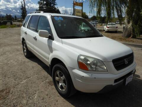 2004 Honda Pilot for sale at VALLEY MOTORS in Kalispell MT