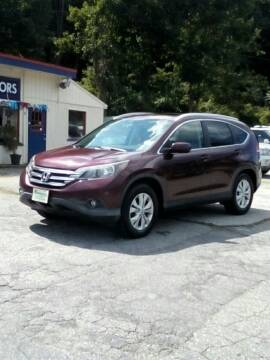 2012 Honda CR-V for sale at Rooney Motors in Pawling NY