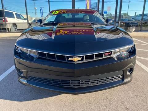 2015 Chevrolet Camaro for sale at Greenville Motor Company in Greenville NC