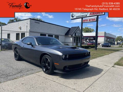 2015 Dodge Challenger for sale at The Family Auto Finance in Redford MI