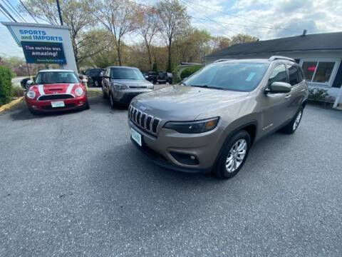 2019 Jeep Cherokee for sale at Sports & Imports in Pasadena MD