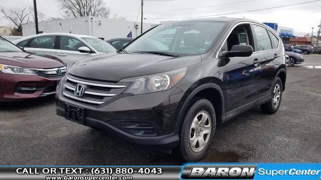 2014 Honda CR-V for sale at Baron Super Center in Patchogue NY