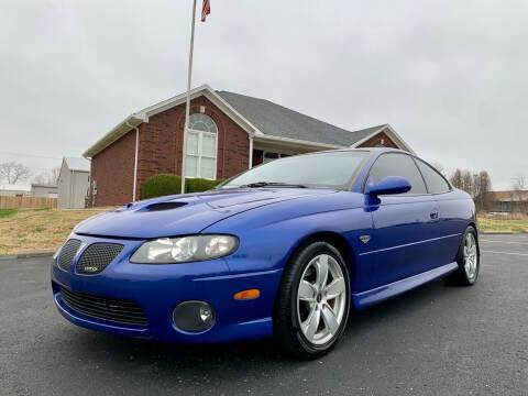 2006 Pontiac GTO for sale at HillView Motors in Shepherdsville KY