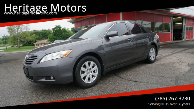 2007 Toyota Camry for sale at Heritage Motors in Topeka KS