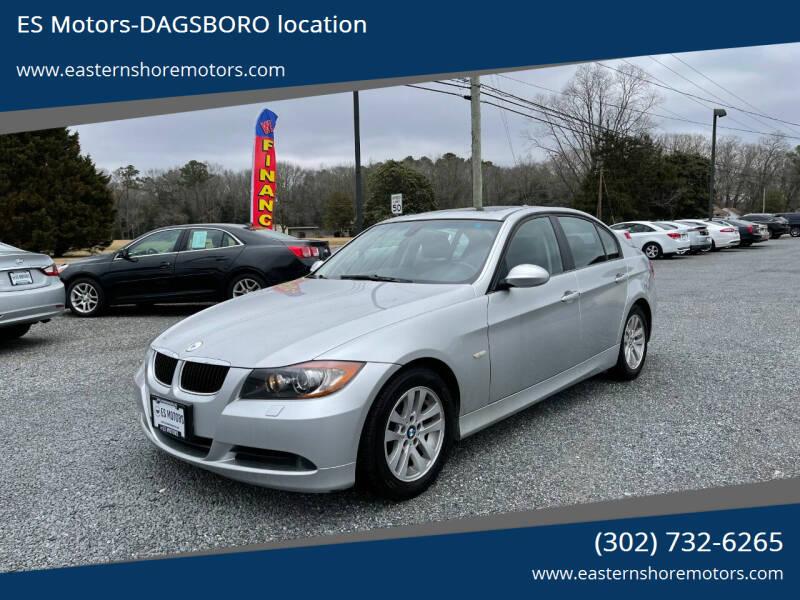 2006 BMW 3 Series for sale at ES Motors-DAGSBORO location in Dagsboro DE