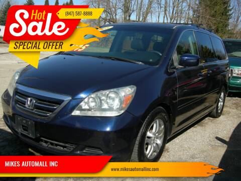 2005 Honda Odyssey for sale at MIKES AUTOMALL INC in Ingleside IL