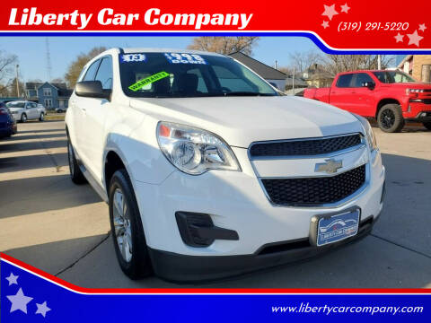 2013 Chevrolet Equinox for sale at Liberty Car Company in Waterloo IA