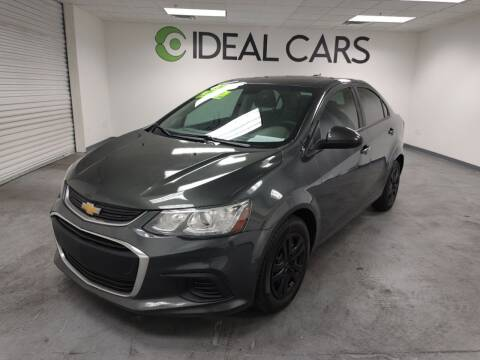 2017 Chevrolet Sonic for sale at Ideal Cars Broadway in Mesa AZ