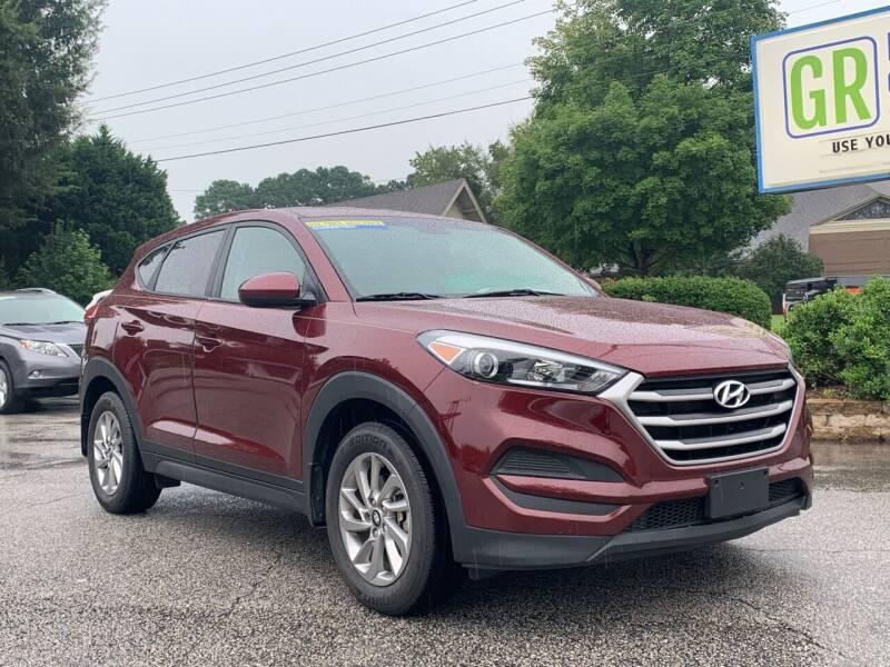 2017 Hyundai Tucson for sale at GR Motor Company in Garner NC