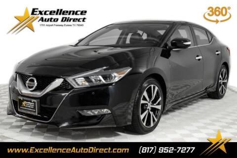 2016 Nissan Maxima for sale at Excellence Auto Direct in Euless TX